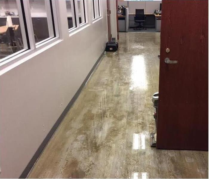 Commercial Water Damage - Louisiana Before